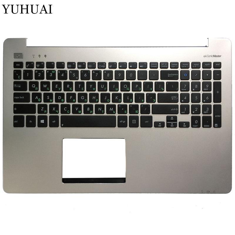 все цены на New Russian Laptop Keyboard For ASUS S551 K551 S551L R553L S551LN V551 K551L with speaker Palmrest Upper Shell