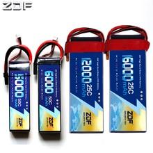 ZDF batería Lipo 3S para cuadricóptero de control remoto, 11,1 V, 5000mAh, 6000mah, 8000mah, 10000mah, 12000mah, 16000mah, 25C, 30C, 50C