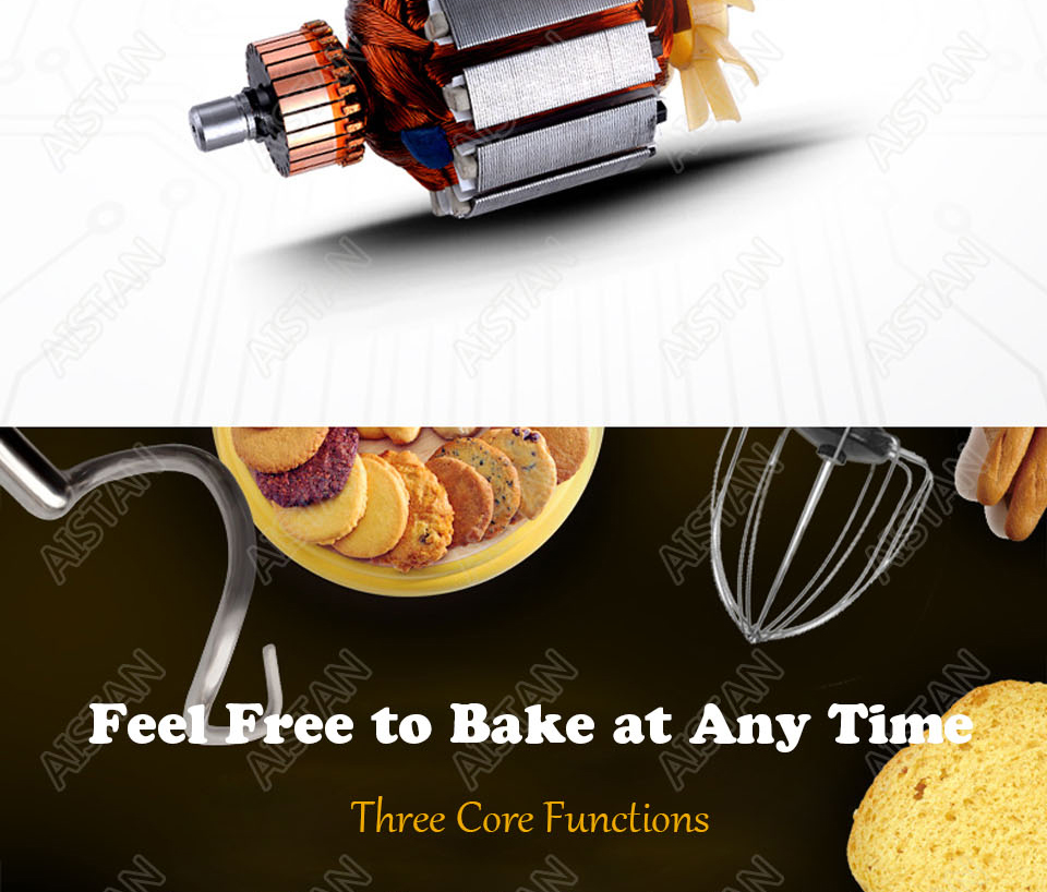 B20A/B30A commercial electric 20L/30L food mixer planetary mixer dough mixer machine for dough kneading/ egg beating/food mixing 4