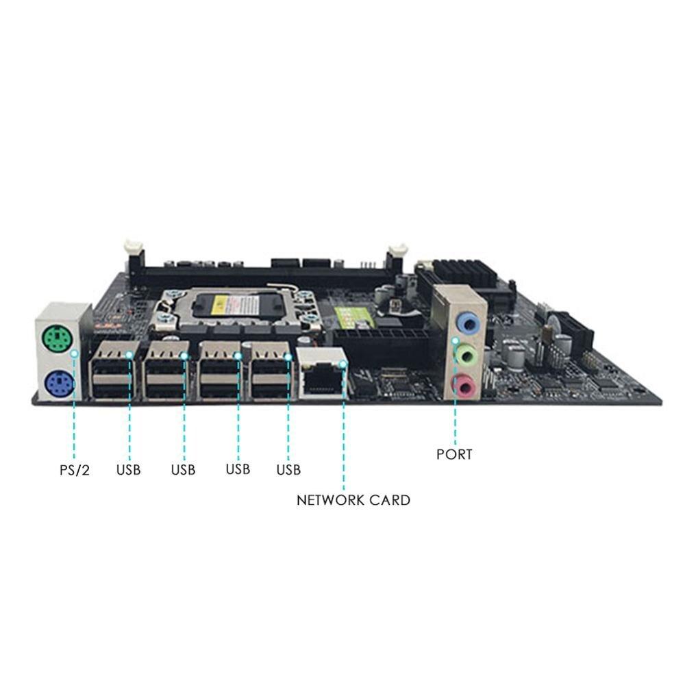 Computador Desktop Mainboard LGA X79 1356Pin RECC DDR3 Hexa Núcleo da CPU Do Servidor Motherboard Suporte E5-2430