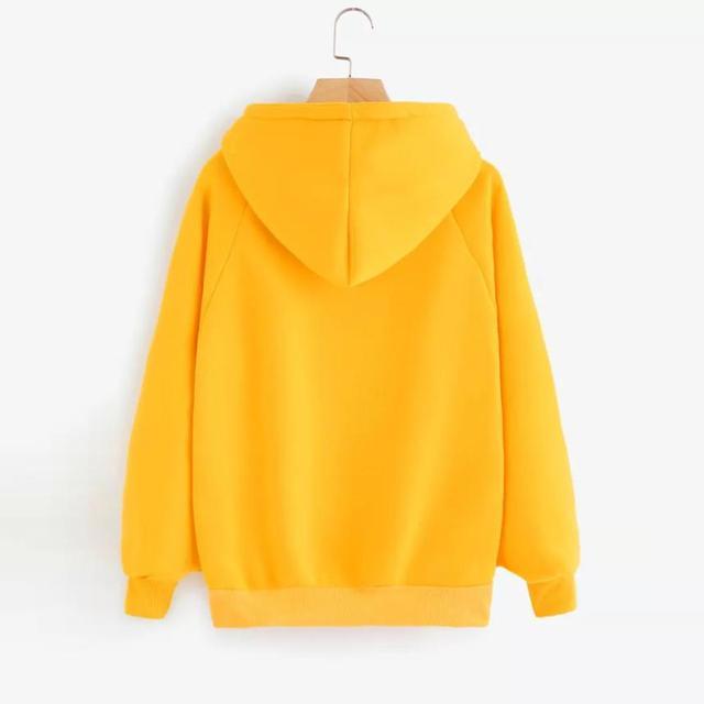 Womens hoodies Long Sleeve Hoodie Sweatshirt Hooded Pullover With Pocket  2