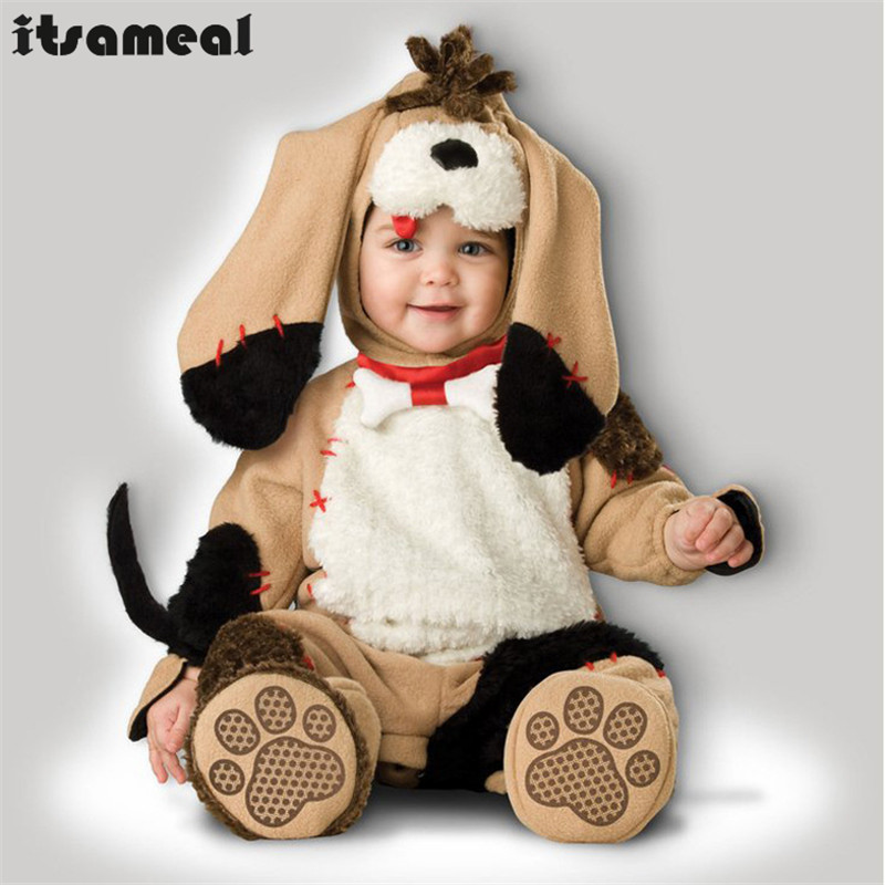 Baby Boy Toddler Dog Movie Character Cosplay Fancy Dress Halloween Party Carnival Costumes