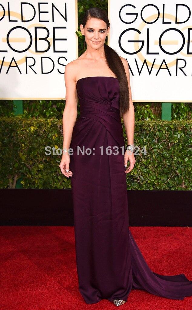 Celebrity Evening Gowns Purple – fashion dresses