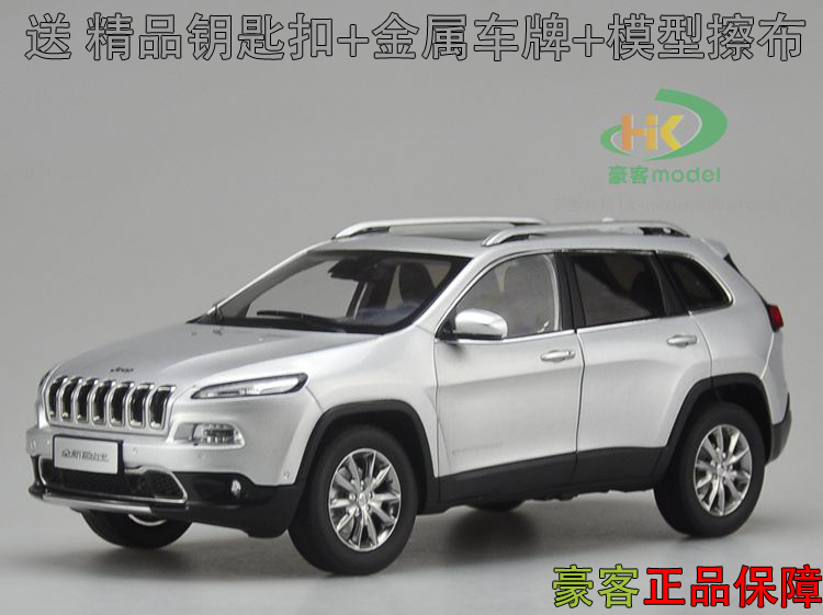 New 1:18 luxury Jeep Renegade Cherokee SUV car model alloy diecast collection boy gift city high quality Off-road hot sale maisto jeep wrangler rubicon fire engine 1 18 scale alloy model metal diecast car toys high quality collection kids toys gift