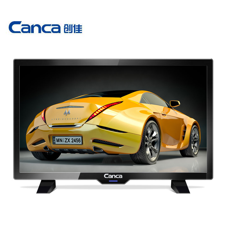Cheapest Canca 19inches TV Full HD HDMI/USB/AV/RF/VGA Multi-Interface Monitor Eyecare Elegant Narrow Support TV Box(China)