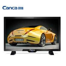 Cheapest canca 19 pulgadas tv full hd hdmi/usb/av/rf/vga monitor de interfaz de múltiples eyecare elegante estrecho apoyo caja de la tv