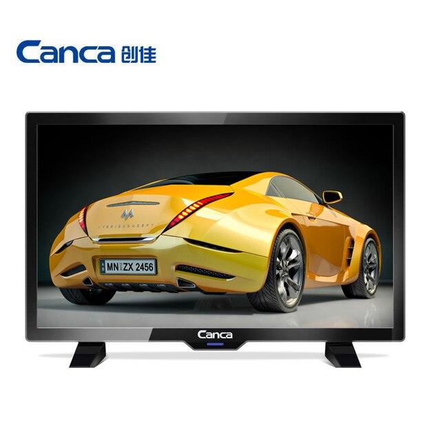 Giá rẻ nhất Canca 19 inches TV Full HD HDMI/USB/AV/RF/VGA Multi-Giao Diện Màn Hình chăm sóc mắt Thanh Lịch Hẹp Hỗ Trợ TV Box