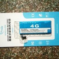 DLL Gerçek Kapasite 1700 mAh Cep Telefonu Pil Ile Apple iphone 4 için iphone4 iphone 4G iphone4G Tezgahları kiti