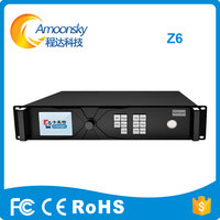 Best Price led rental small pixel display support splicing pop colorlight super master led controller Z6