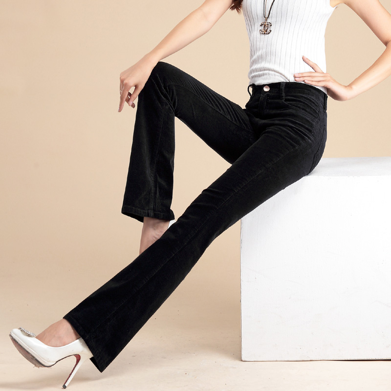 Ladies bootcut cord trousers