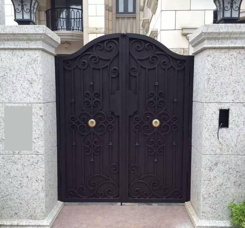 US $30 0  decorative gates for outdoors iron security gate iron side  gate-in Doors from Home Improvement on Aliexpress com   Alibaba Group
