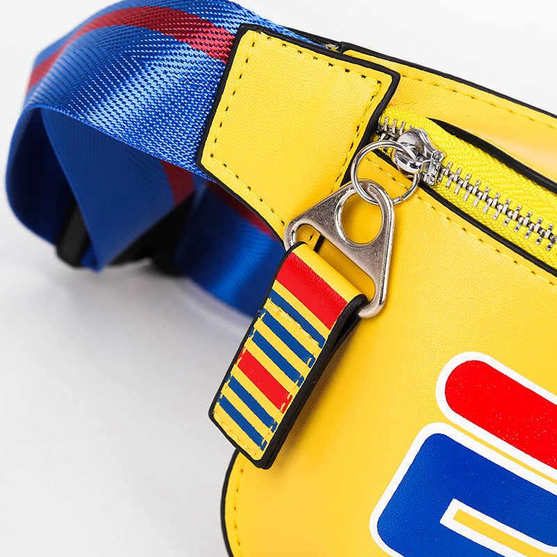 Unisex saco da cintura fanny Cinto Caixa De Viagem colorido novo design Saco Hop Rocha Meninos Menina