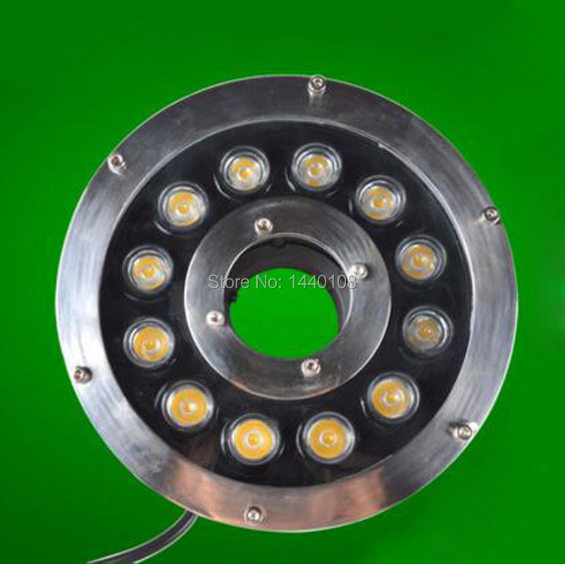 2pcs/lot RGB 12W Led Swimming Pool Light 12V 24V IP68 Waterproof Spotlights Underwater Lights For Pools Lighting Fountains платье quelle ajc 646912