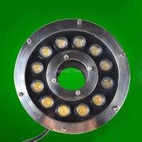 2pcs/lot RGB 12W Led Underwater Light, DC12V Waterproof IP68 Underwater Spotlights/Fountain/Pool Light