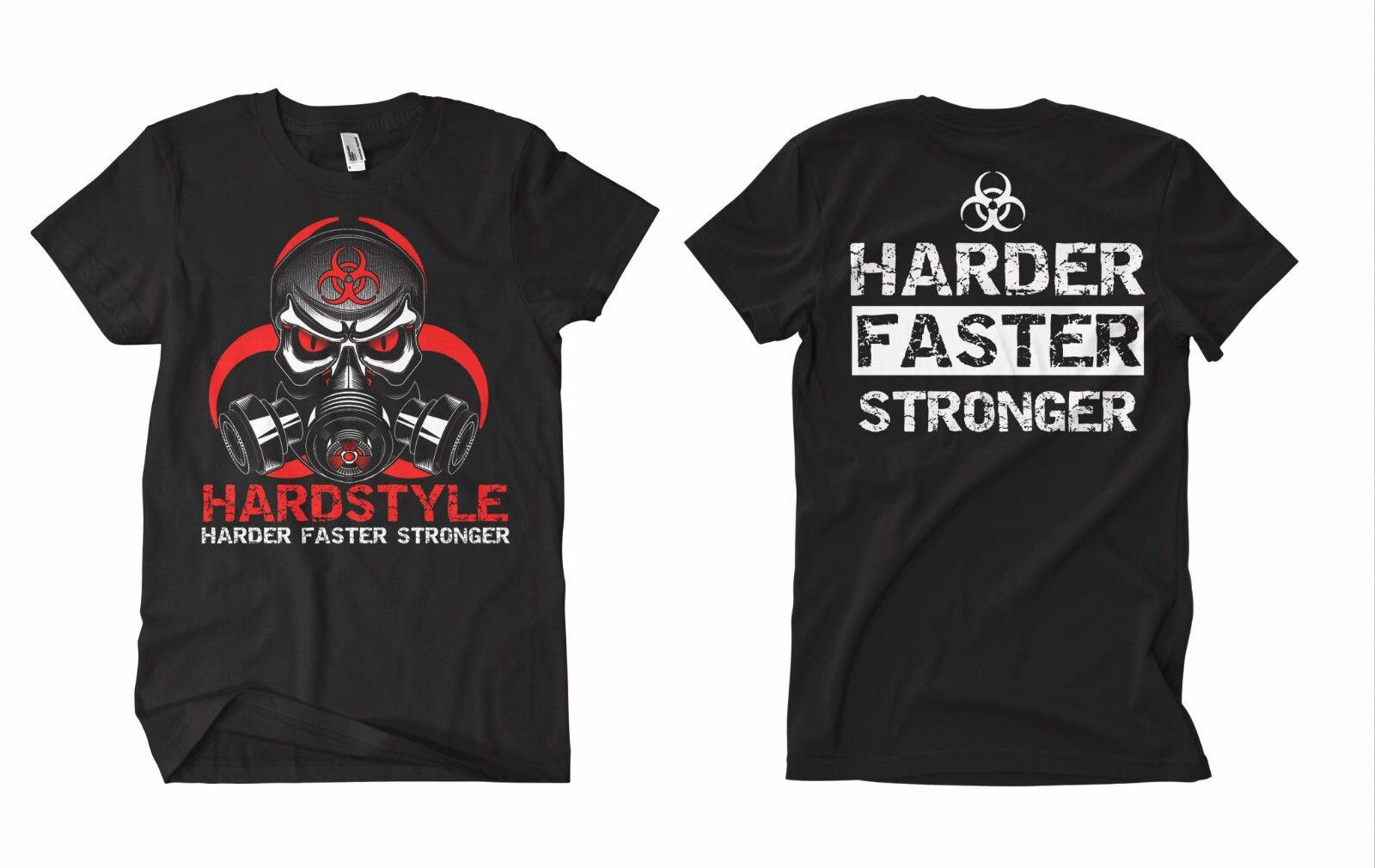 Camiseta de verano novedad camiseta de dibujos animados estilo duro camiseta de estilo duro de Gabba Hardcore Techno de la película del cuerpo de Terror de rótmano