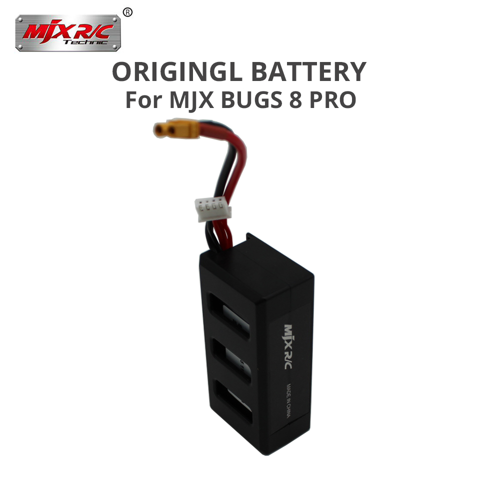 Original MJX Bugs 8 pro B8PRO RC Helicopter battery 11.1V 1300mAh Li-Po Battery rc quadcopter drone spare parts accessories стоимость