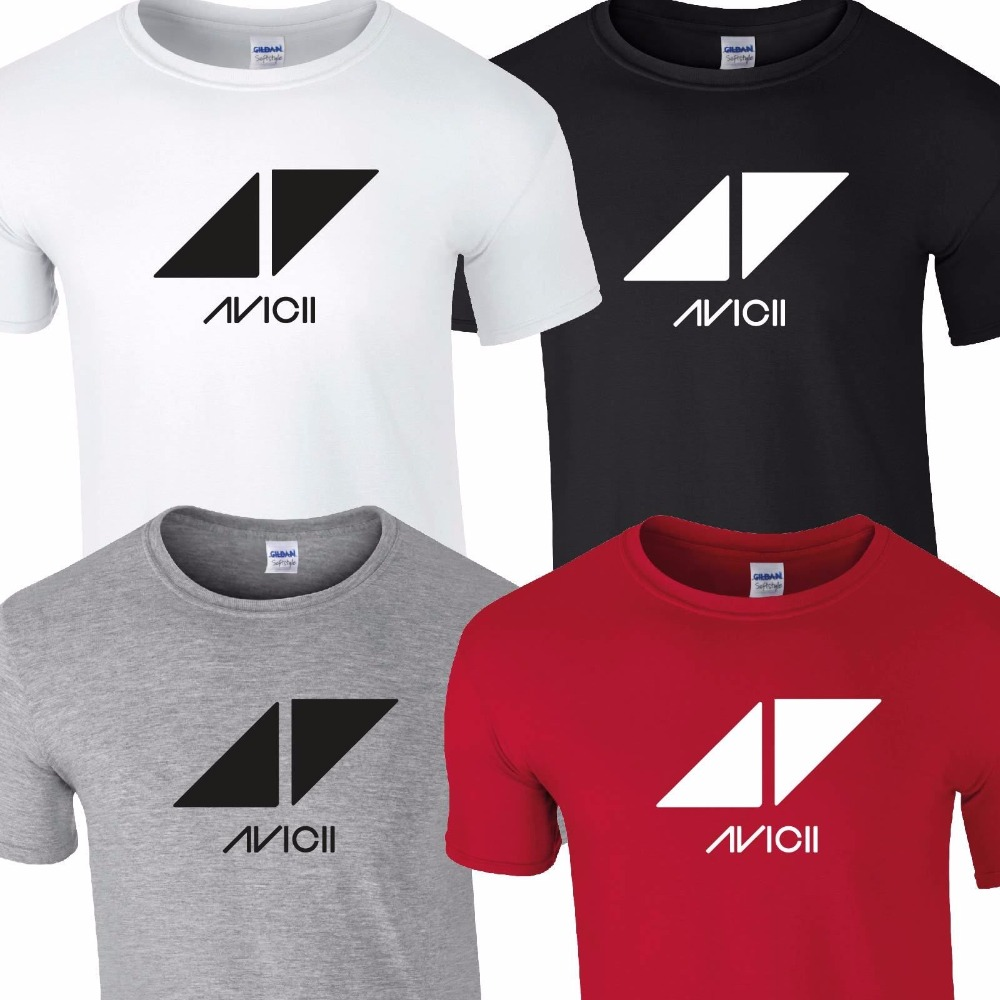 DJ AVICII T SHIRT TOP TEE TSHIRT MUSIC FESTIVAL TOUR INDIE ROCK PUNK ALBUM BAND TShirt Tee Shirt Unisex More Size and Color-A195 image