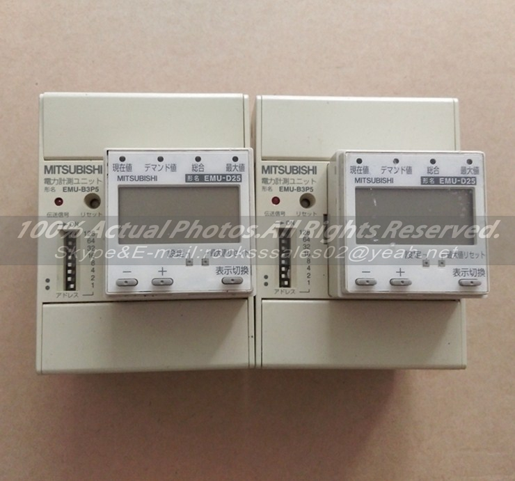 Mitsubishi PLC EMU-B3P5  Used Good In Conditon With Free DHL / EMS dhl ems 1pc for good quality fr e740 5 5k cht plc new