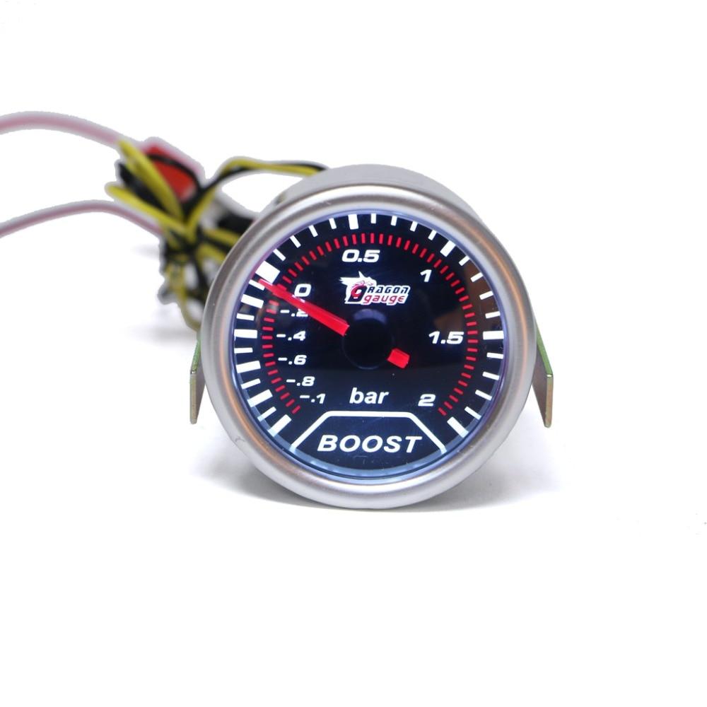 52 мм автомобиль Универсальный светодиодный указатель бар Turbo Boost вакуумметр Пресс метр набор J24