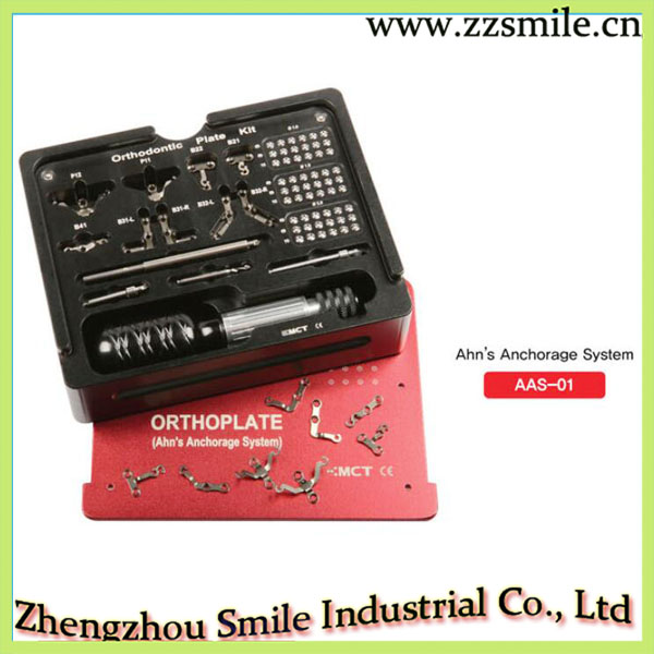 Promotion Original MCT AAS-01 Titanium Anchorage System Orthodontic Plate Kit clamp