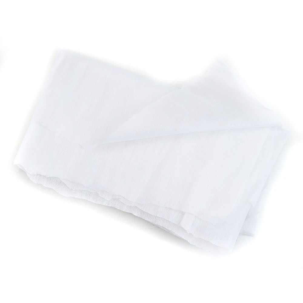 Doublure en tissu Non tissé blanc | 100 cm 25g/45g, gris noir blanc, doublure adhésive, fer sur le Patchwork de couture, doublures adhésives sur une face, bricolage, 1 pièce