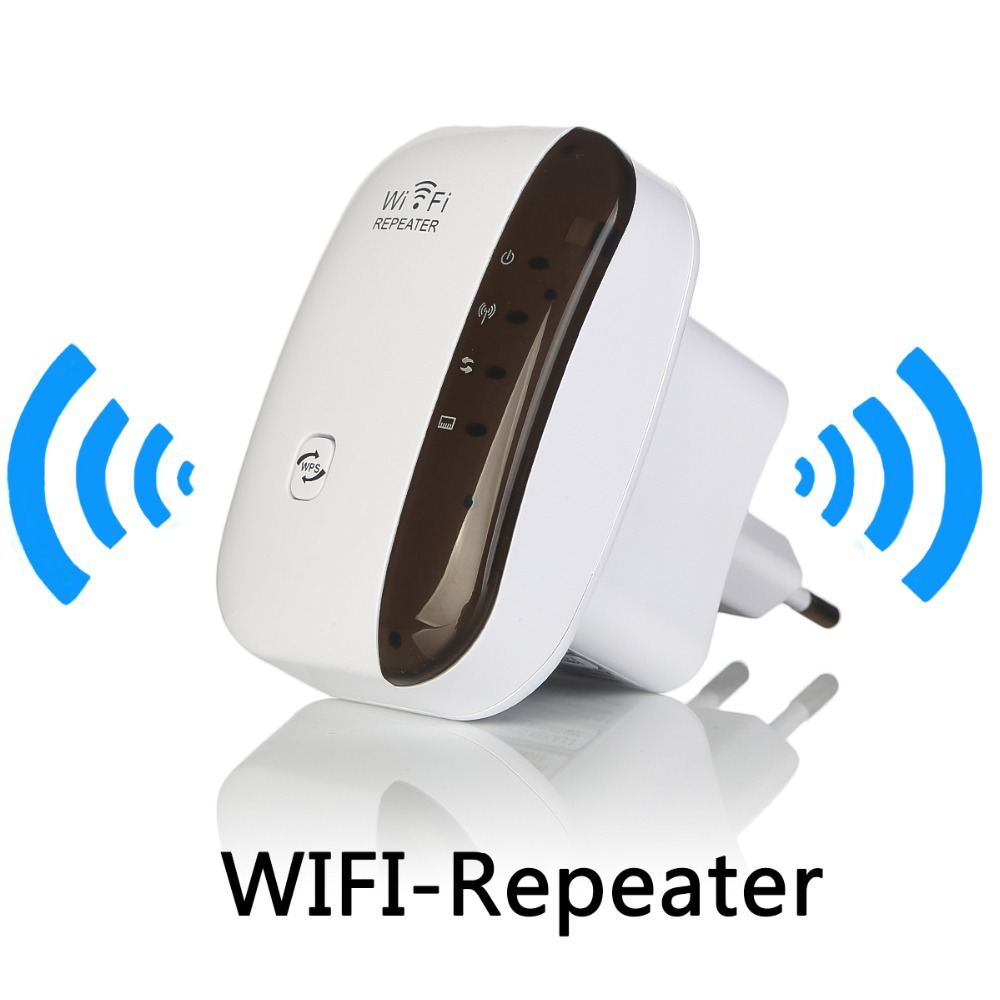 Wireless WiFi Repeater Signal Amplifier 802.11N/B/G Wi-fi Range Extander 300Mbps Signal Boosters Repetidor Wifi Wps Encryption ...