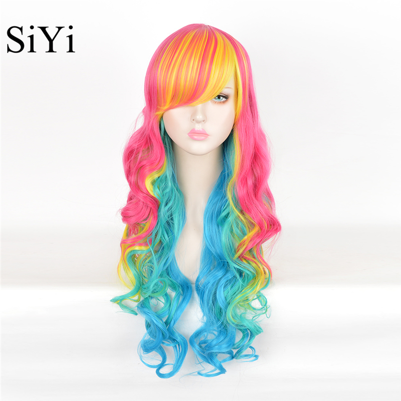 Cheap Long Straight Fashion Sweet Natural Wigs 3 Colors