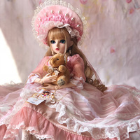 1/3 BJD 60CM Doll toys Top Quality Chinese Doll 18 Joint BJD Ball Joint Doll Fashion Girl Gift toys for girls