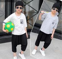 2017 Summer Style Fashion Basketball Wear Baby Boys Brand 23 T Shirt Shorts Boy Sports Clothes