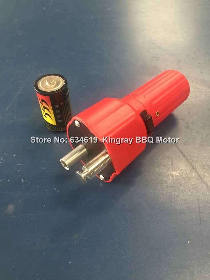 Dc1 5v battery powered bbq motor electric rotary bbq for Battery powered dc motor