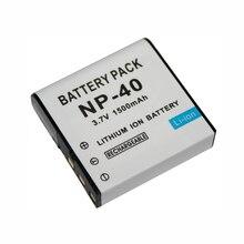 3.7V 1500mAh NP-40 CNP-40 CNP 40 CNP40 Rechargeable Camera Battery For Casio EX-Z30 Z40 Z50 Z55 Z57 Z750 EX-P505 P600 P700 PM200