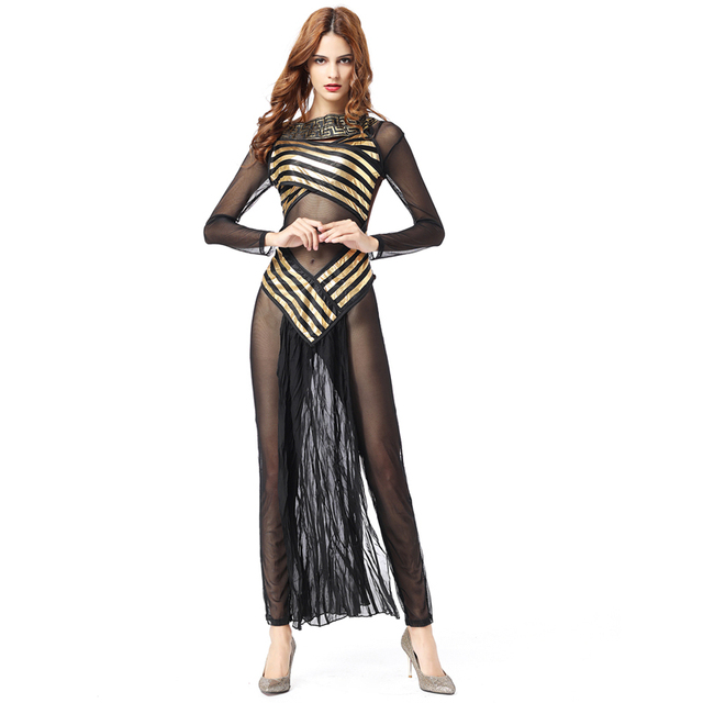 Disfraces Carnaval Adultos Cosplay Egyptian sexy carnival costumes womens Cleopatra Costume Gothic Halloween Costumes For Women  sc 1 st  AliExpress.com & Disfraces Carnaval Adultos Cosplay Egyptian sexy carnival costumes ...