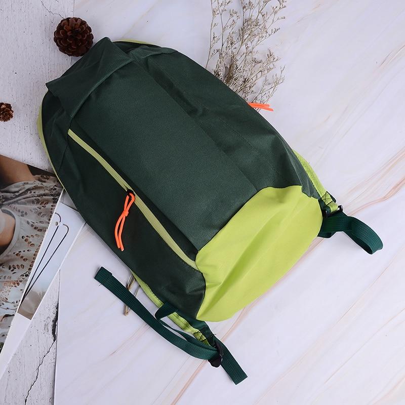 New 1Pc Unisex Sports Backpack Satchel Bag Withe Soft Handle Lightweight Nylon Backpacks For Travel Hiking Rucksack 9 Colors