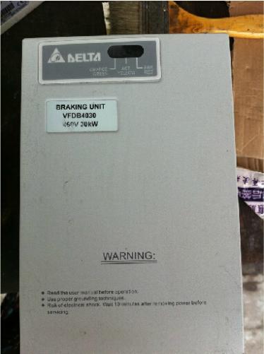 New Original Frequency Converter Brake unit VFDB4030 460V 30KW DC400-800V New Special price