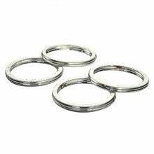For Suzuki GS850 GS750 GS400X GS450 GN400 TS100 TC100 TS125 GT250 DR650S Exhaust Pipe Header Gasket Ring 4PCs / Set