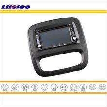 Liislee For Renault Trafic X82 2014 2015 2016 Car Radio CD DVD Player GPS NAVI Navigation