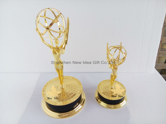 Big Emmy Trophy By Free DHL Shipment With 155 Inches Huge Metal Awards