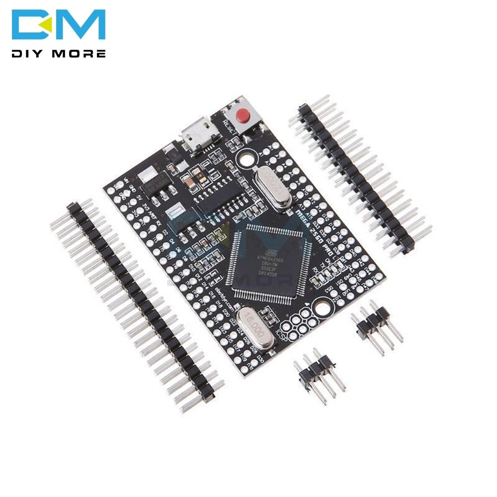 MEGA 2560 PRO Orkut CH340G/Mega2560 ATMEGA2560-16AU Chip Com Pinheaders Masculino Compatível para Arduino Módulo