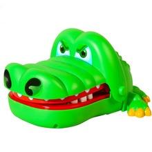 크리 에이 티브 입 이빨 악어 손을 어린이 장난감 가족 게임 재미있는 손 악어 게임을 물어 타이
