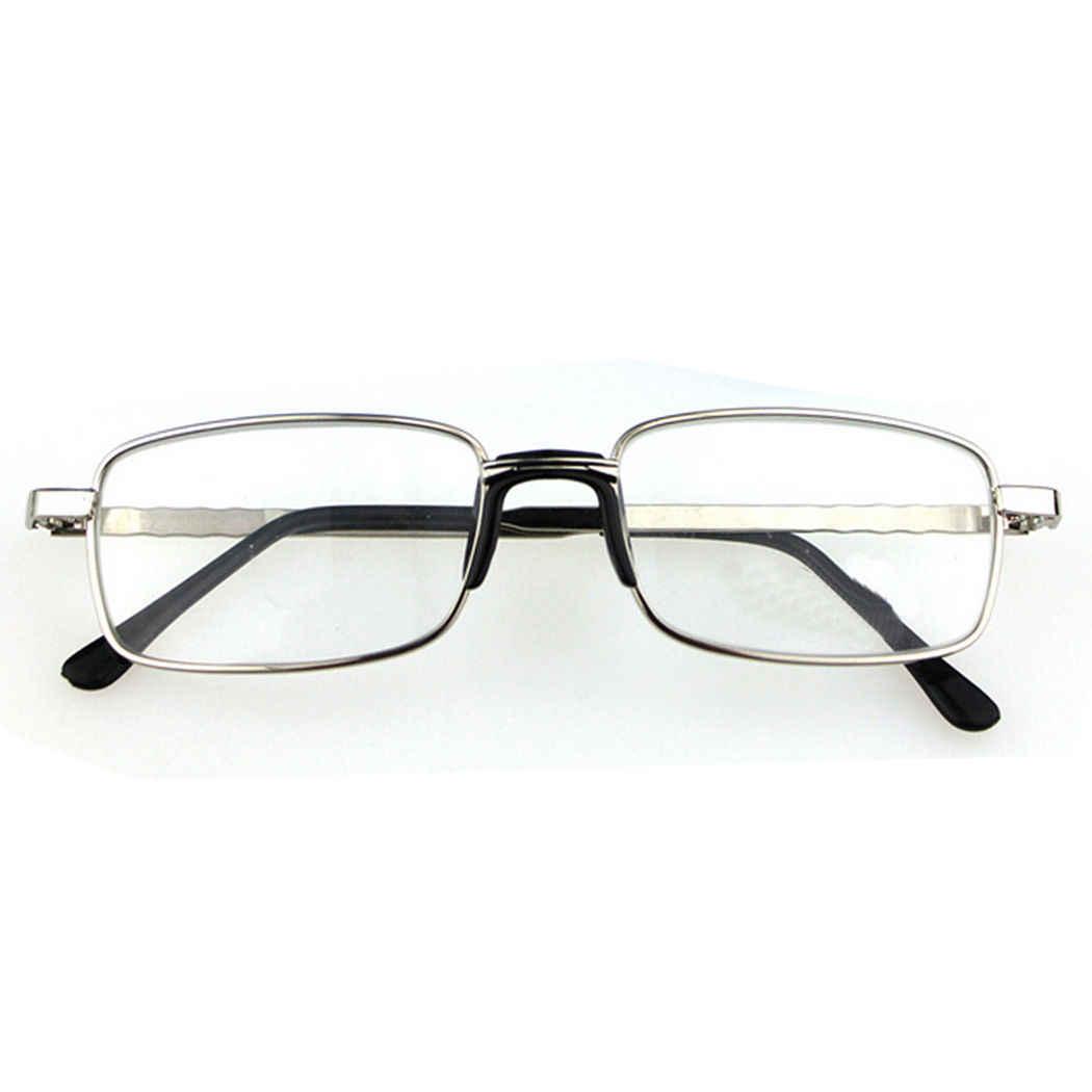 8defcc388187 ... Stylish Unisex Men Women Eyeglasses Coating Full-frame Reading Glasses  Spectacles Reader Metal With Case