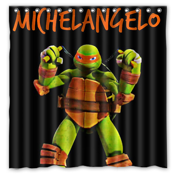 Exceptionnel Teenage Mutant Ninja Turtles Design Bathroom Shower Curtain  Waterproofu0026Mildewproof Polyester Fabric Bath Curtains 180cm*180cm In Shower  Curtains From Home ...
