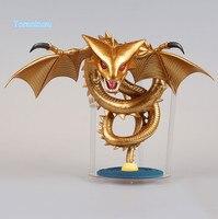 Dragon Ball Z Shenron Action Figure Banpresto WCF MEGA Gold Shenron Collection Model Toy Figuras DBZ Original