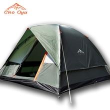3-4 человека ветрозащитная кемпинговая палатка двухслойная водостойкая Pop Up Open Anti UV туристические палатки для наружного туризма пляж путешествия Tienda