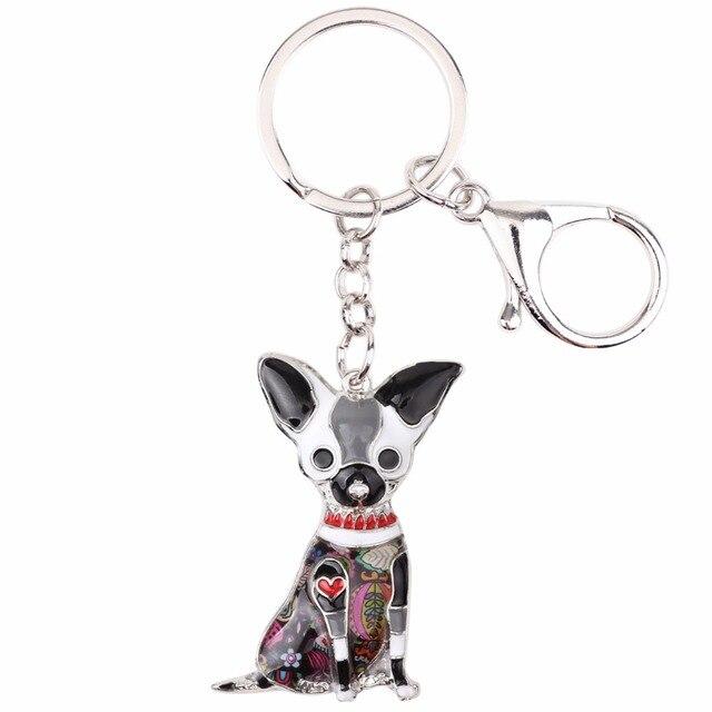 Chihuahua Dog KeyChain