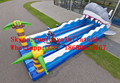2016 new Factory direct Inflatable games,Inflatable rally competition, rally competition KYG-71
