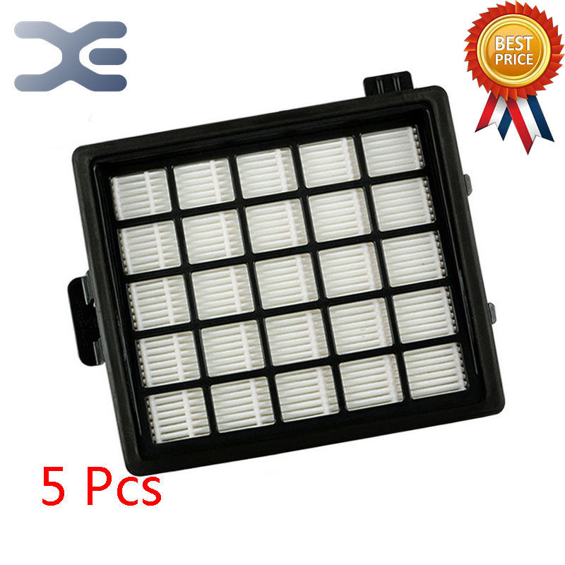 5Pcs Lot High Quality Fitting For Philips Vacuum Cleaner Accessories Filter FC8140 / 8148 HEPA Filter FC8144