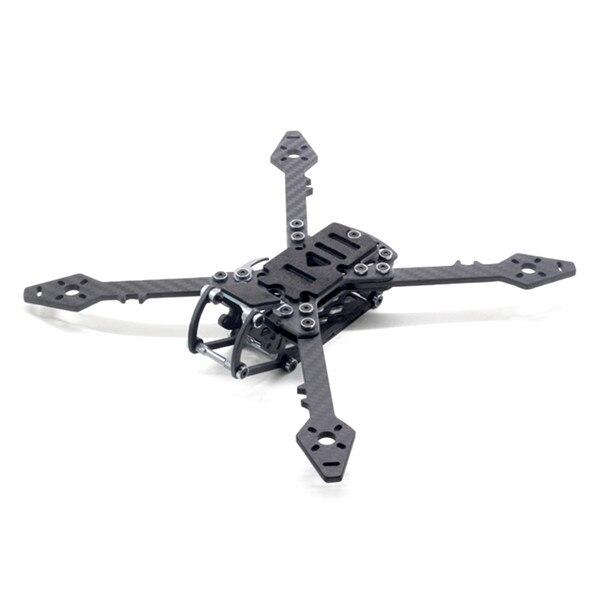 HSKRC Freestyle 250 248mm Carbon Fiber True X Type RC Drone FPV Racing Frame Kit For RC Models Multicopter Motor ESC 118g