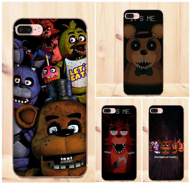 US $1 99 |For Samsung Galaxy Note 2 3 4 5 8 9 S3 S4 S5 S6 S7 S8 S9 mini  Edge Plus TPU Custom Phone New Five Nights At Freddys Fnaf Poster-in