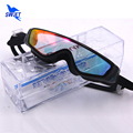 Adult Professional Anti Fog Swimming Goggles One-Piece Plating Water Glasses Men Women Best Swimming Eyewear Swim Accessories