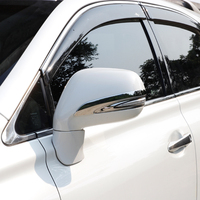 2009-2015 Chrome Rearview Side Mirror Cover Trims For Lexus RX 270 RX350 Accessories